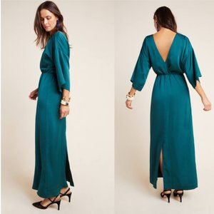 MARCIENNE MAXI DRESS (Anthro- Teal Gown)